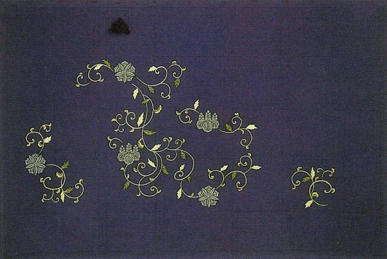枝唐草両山紋